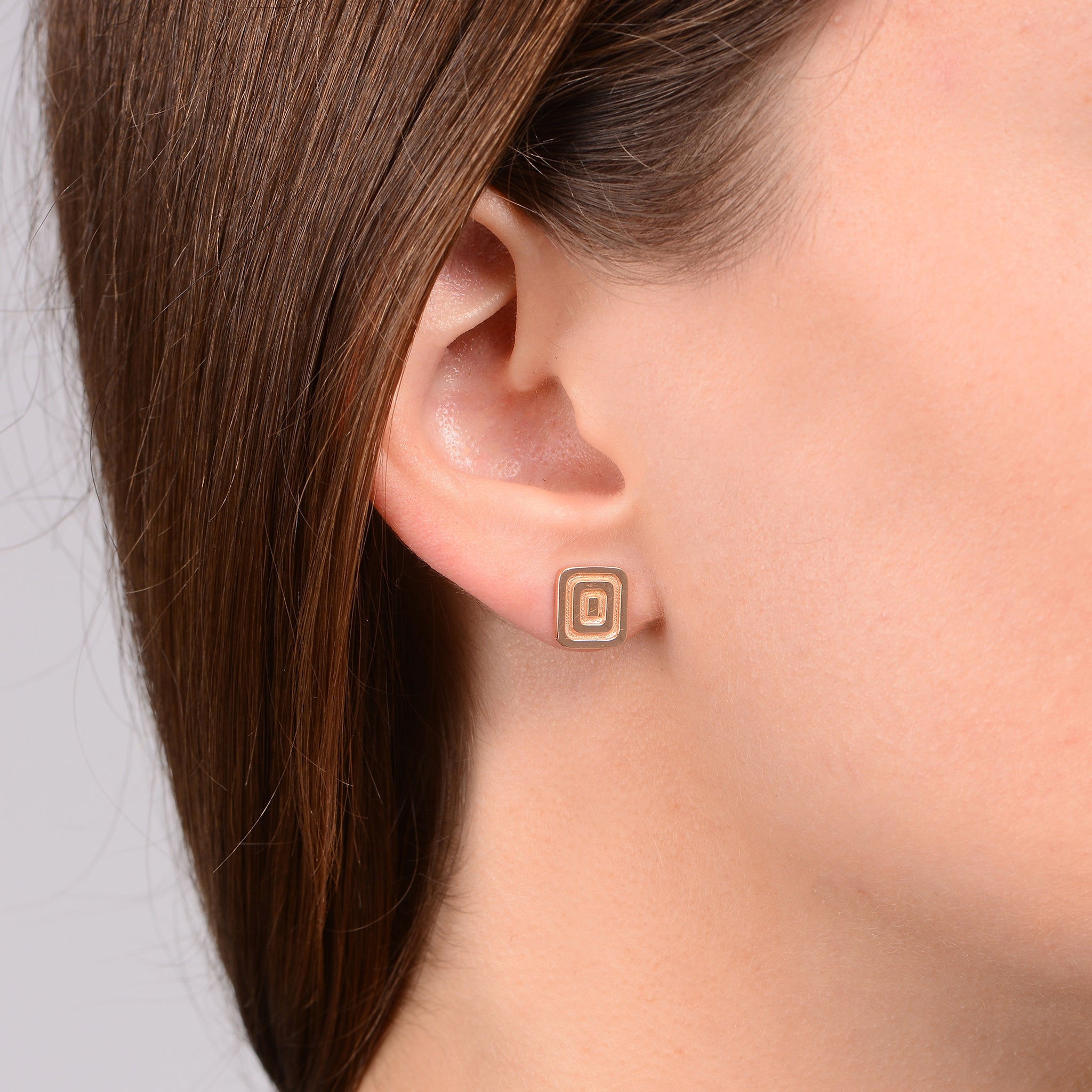 Mimi So Piece Icon Stud Earrings
