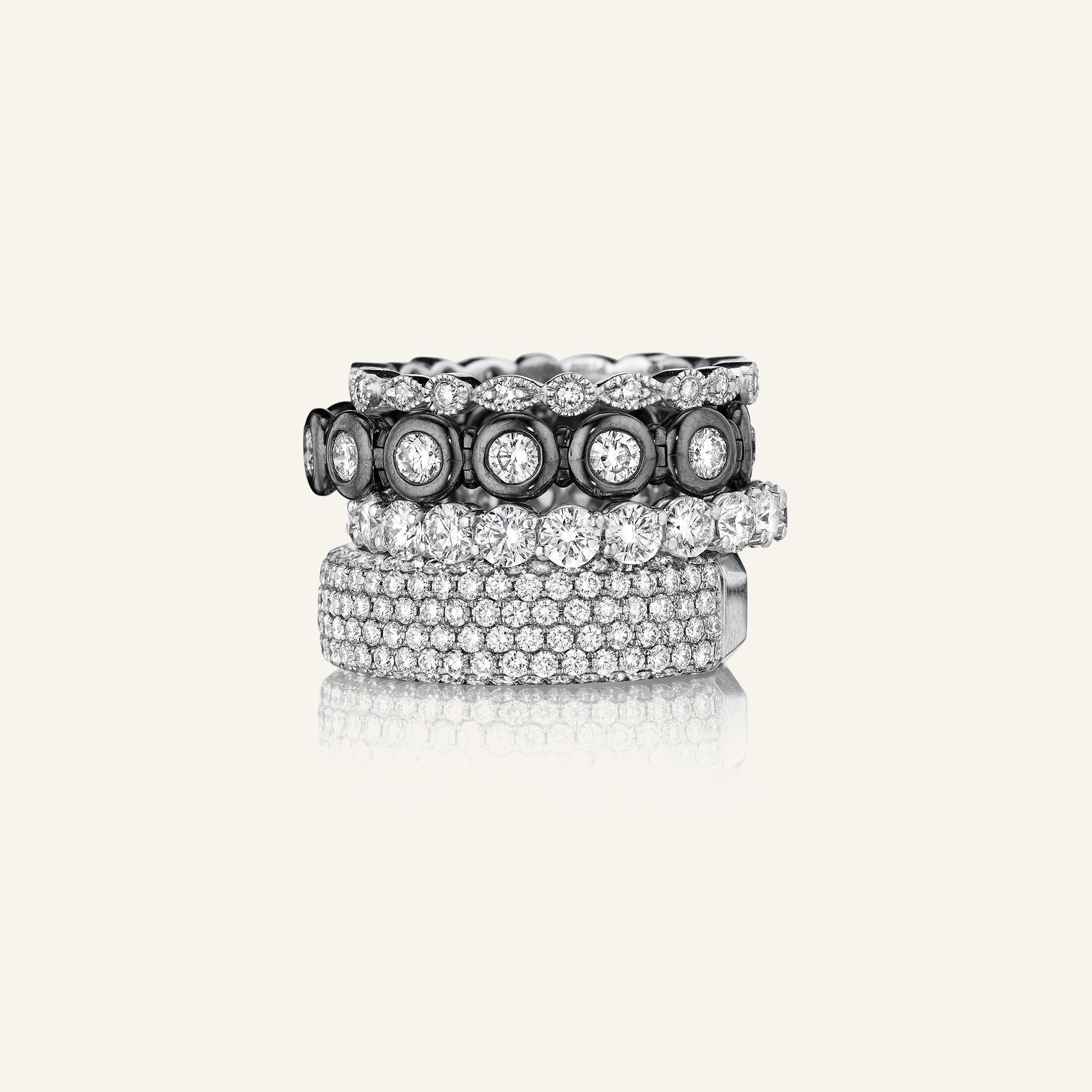 Laight Round Brilliant Diamond Eternity Band