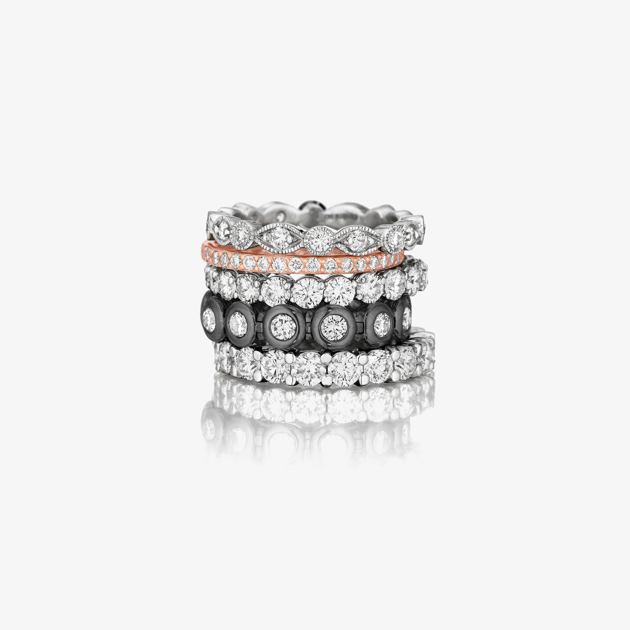 Mimi So Bridal Collection Diamond Rings