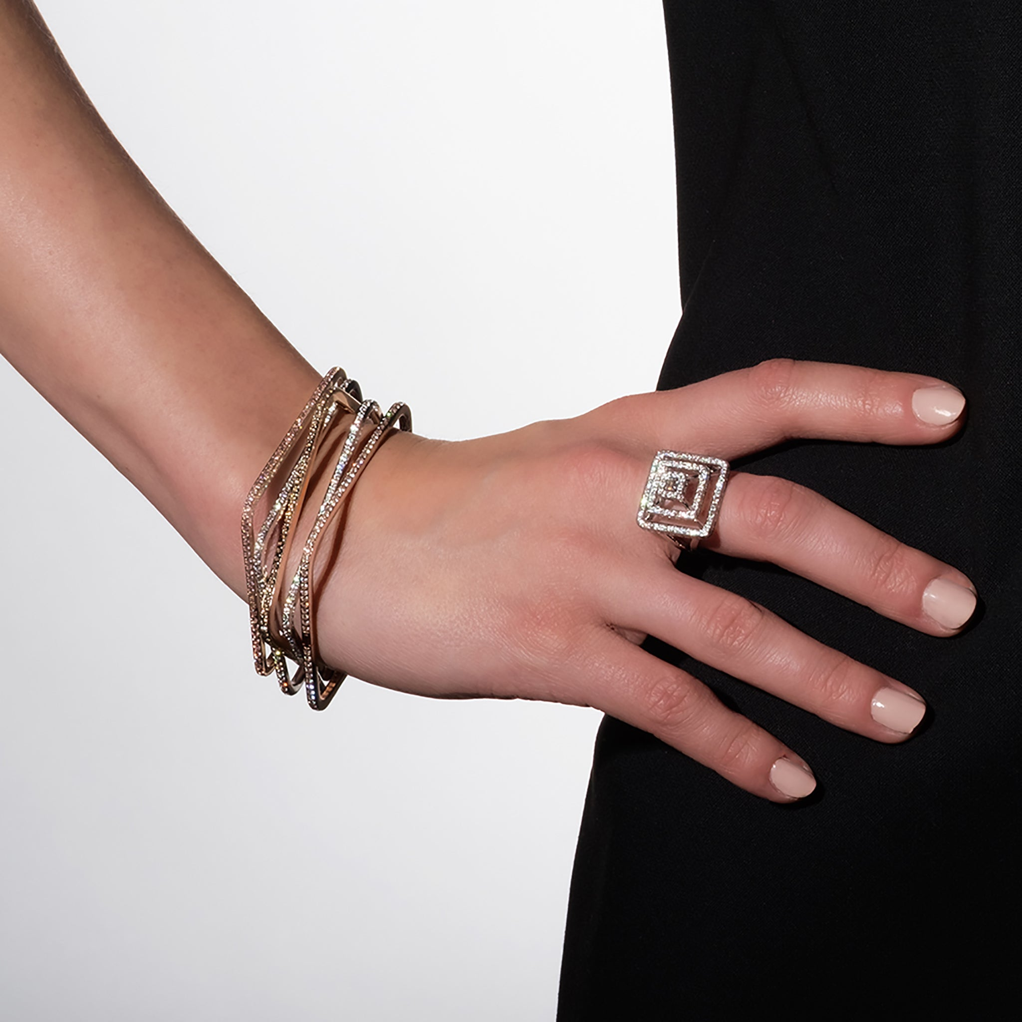 Mimi-So-Piece-Square-Bangle-Stack
