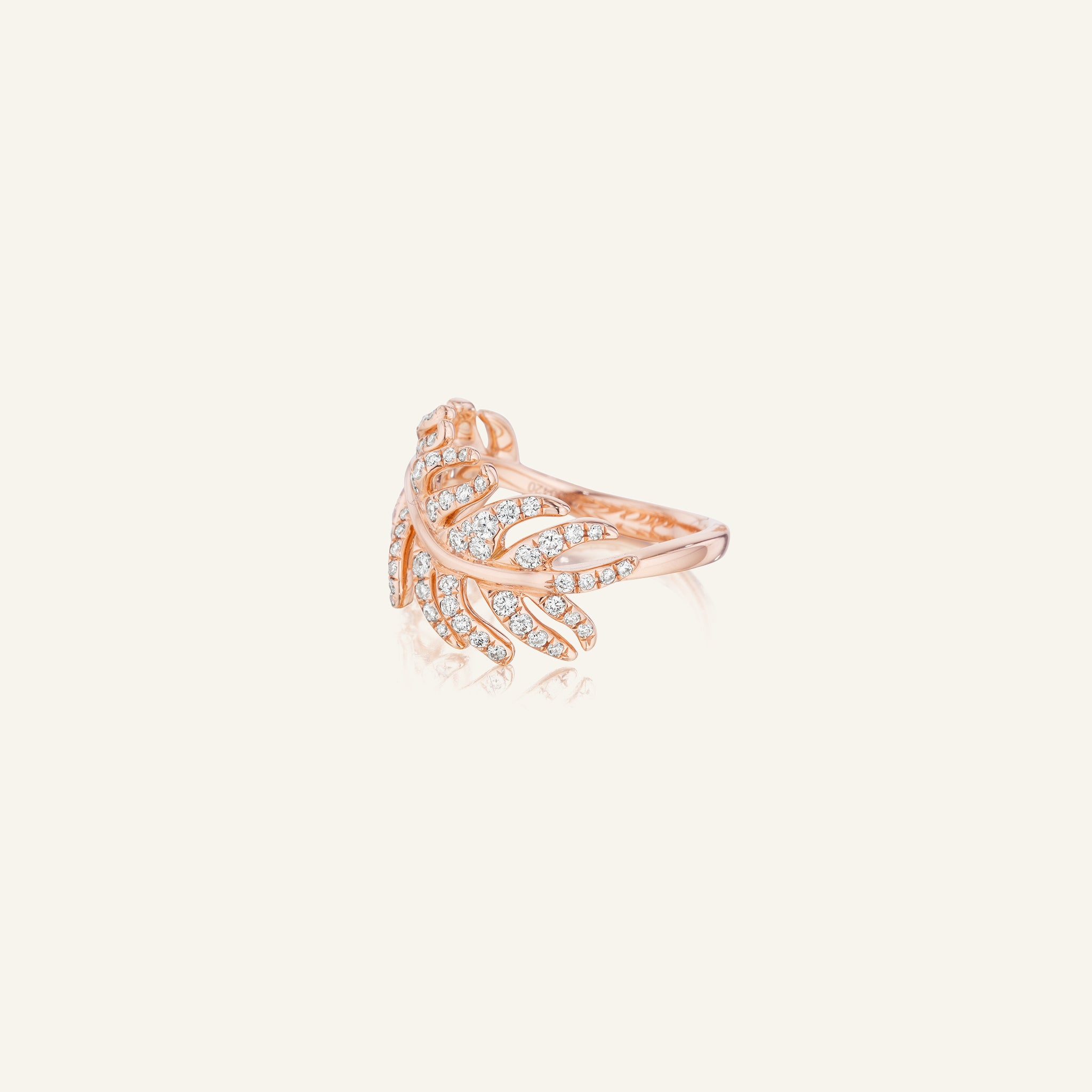 Mimi-So-Phoenix-Feather-Stackable-Diamond-Rings