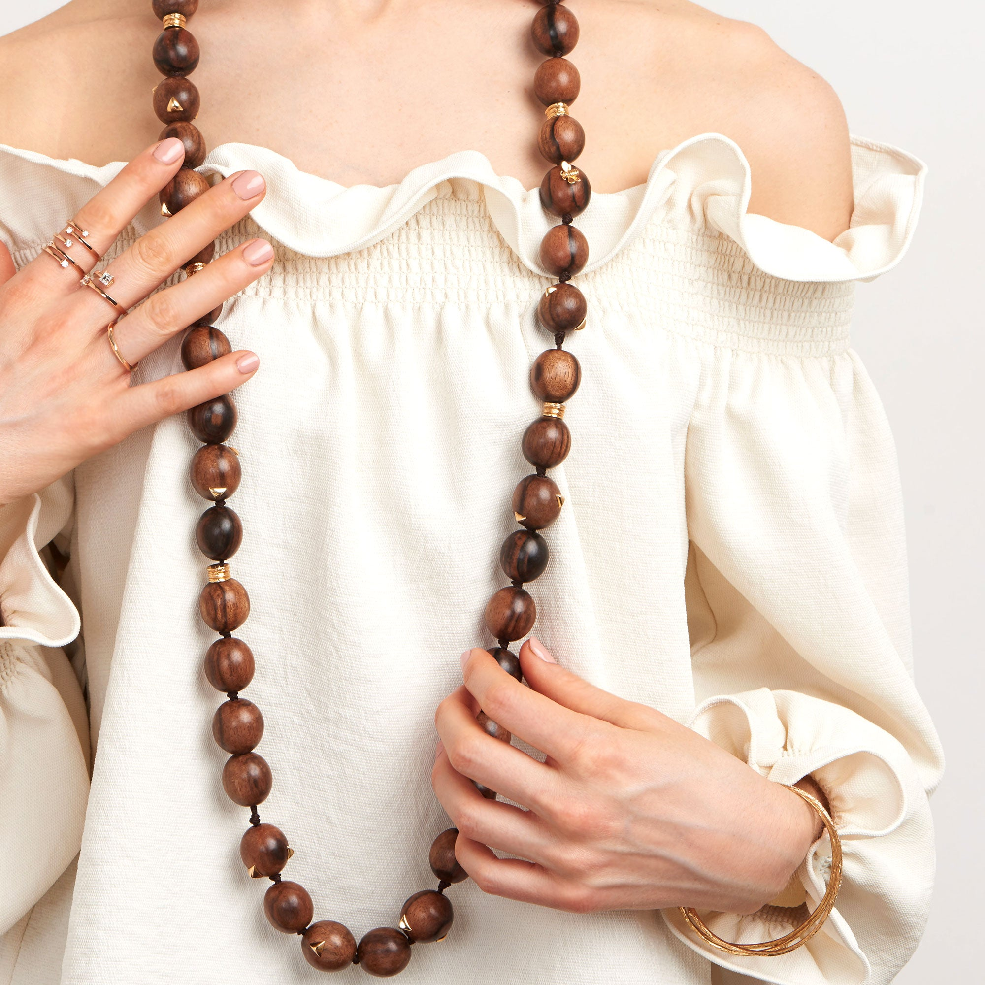Mimi-So-Wonderland-Ebony-Wood-Bead-Necklace