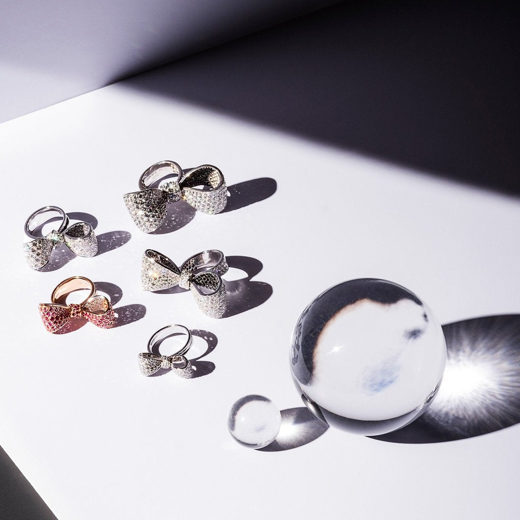 Mimi So Bow Ring Collection