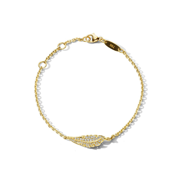Mimi-So-Phoenix-Feather-Diamond-Bracelet_18k Yellow Gold