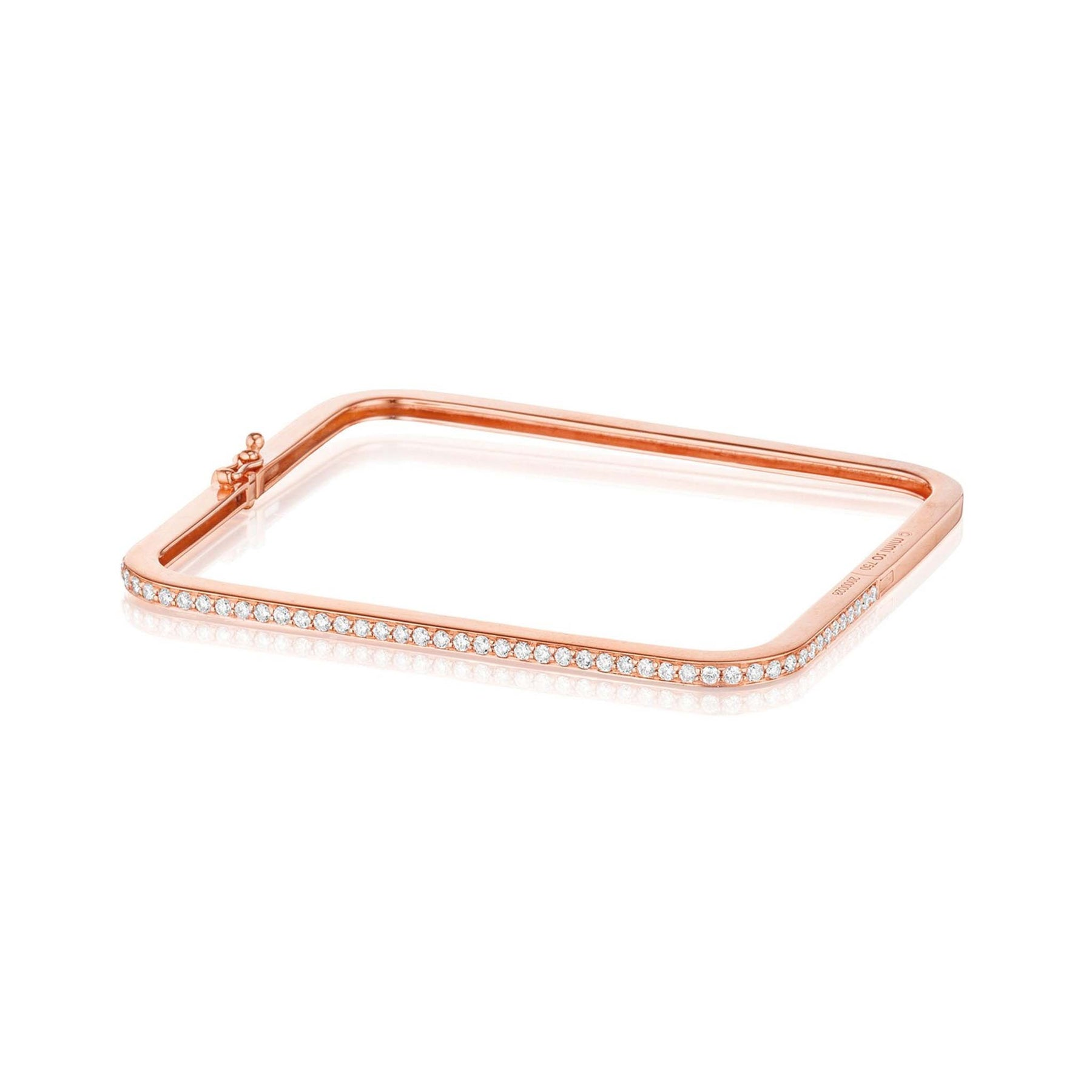 Mimi-So-Piece-Stackable-Square-Diamond-Bangle_18k Rose Gold