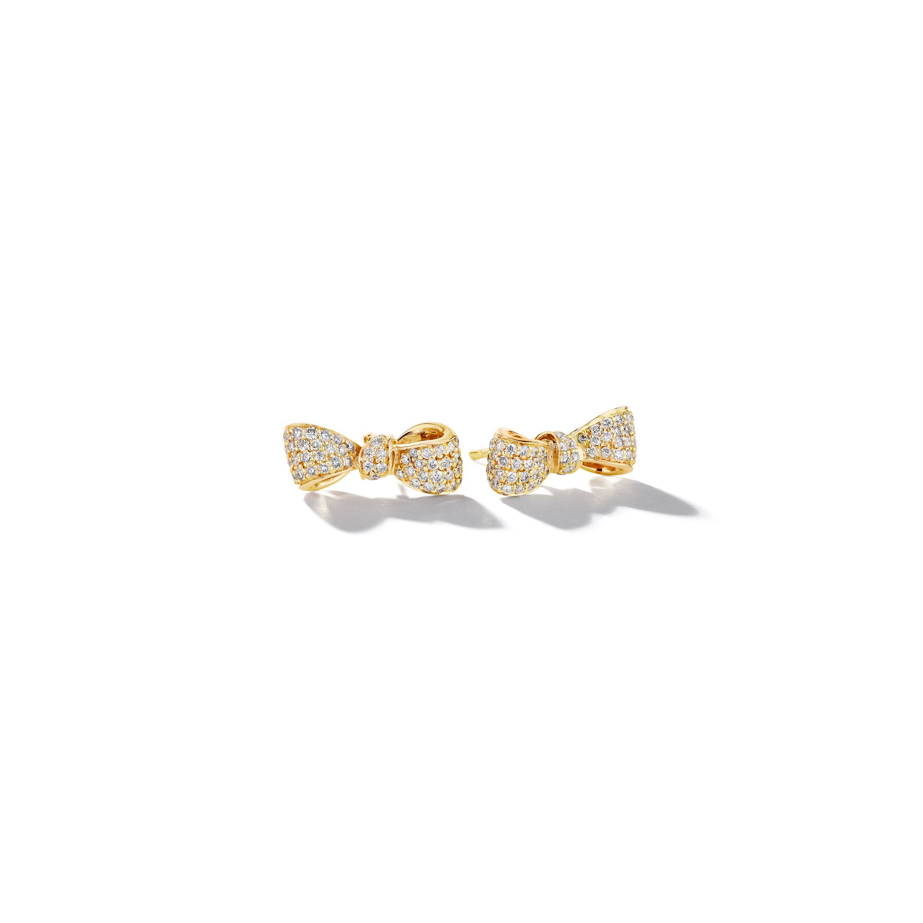 Mimi-So-Bow-Diamond-Earrings-Mini_18k Yellow Gold