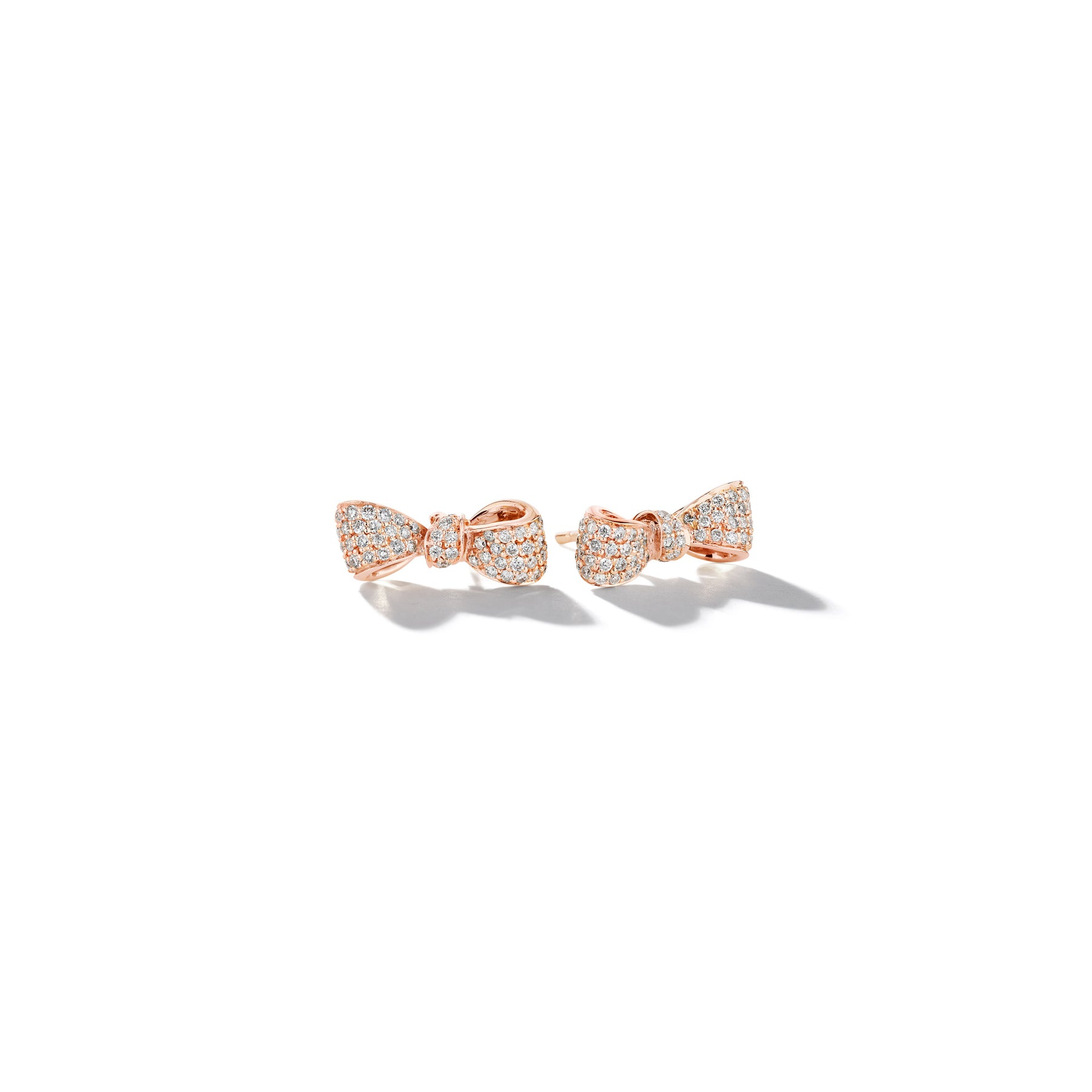 Mimi-So-Bow-Diamond-Earrings-Mini_18k Rose Gold
