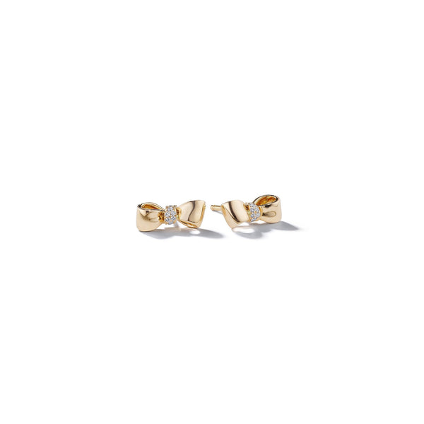 Mimi-So-Bow-Diamond-Knot-Baby-Stud-Earrings_14k Yellow Gold