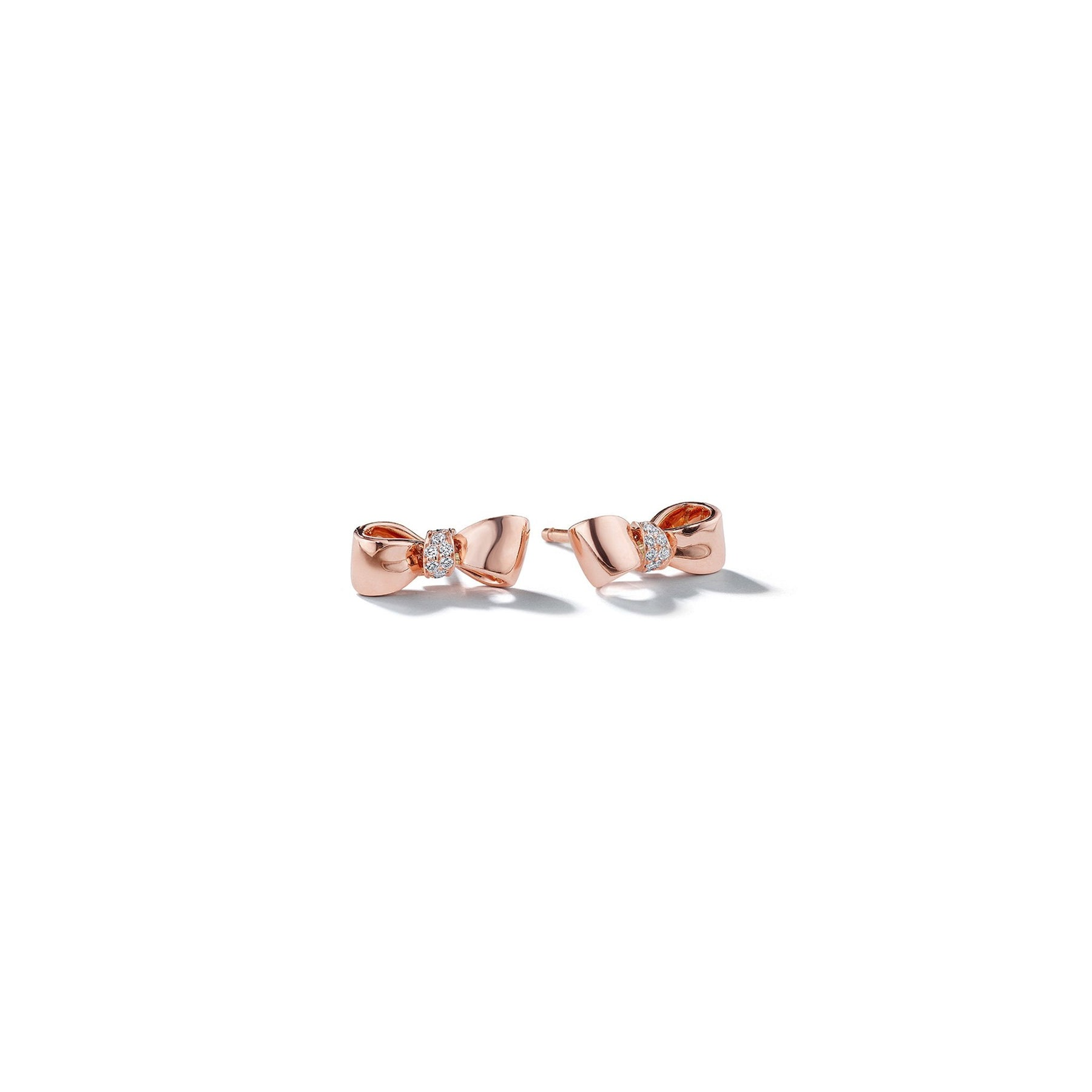 Mimi-So-Bow-Diamond-Knot-Baby-Stud-Earrings_14k Rose Gold
