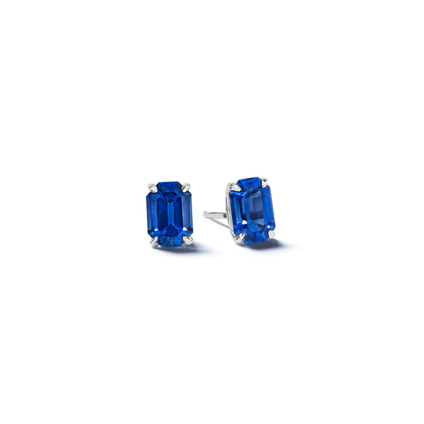Mimi-So-Emerald-Cut-Sapphire-Stud-Earrings_14k White Gold