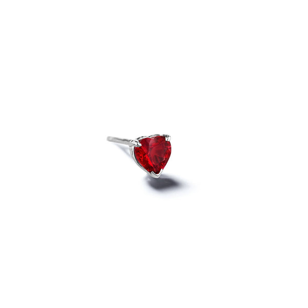 Mimi-So-Heart-Shaped-Ruby-Stud-Earring_14k White Gold