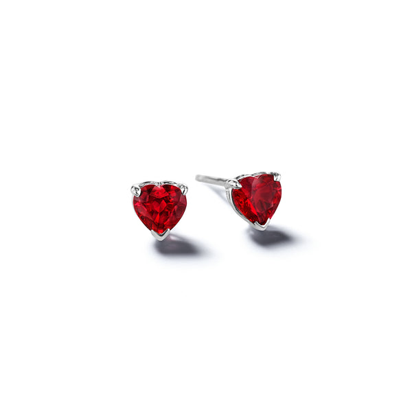 Mimi-So-Heart-Shaped-Ruby-Stud-Earrings_14k White Gold