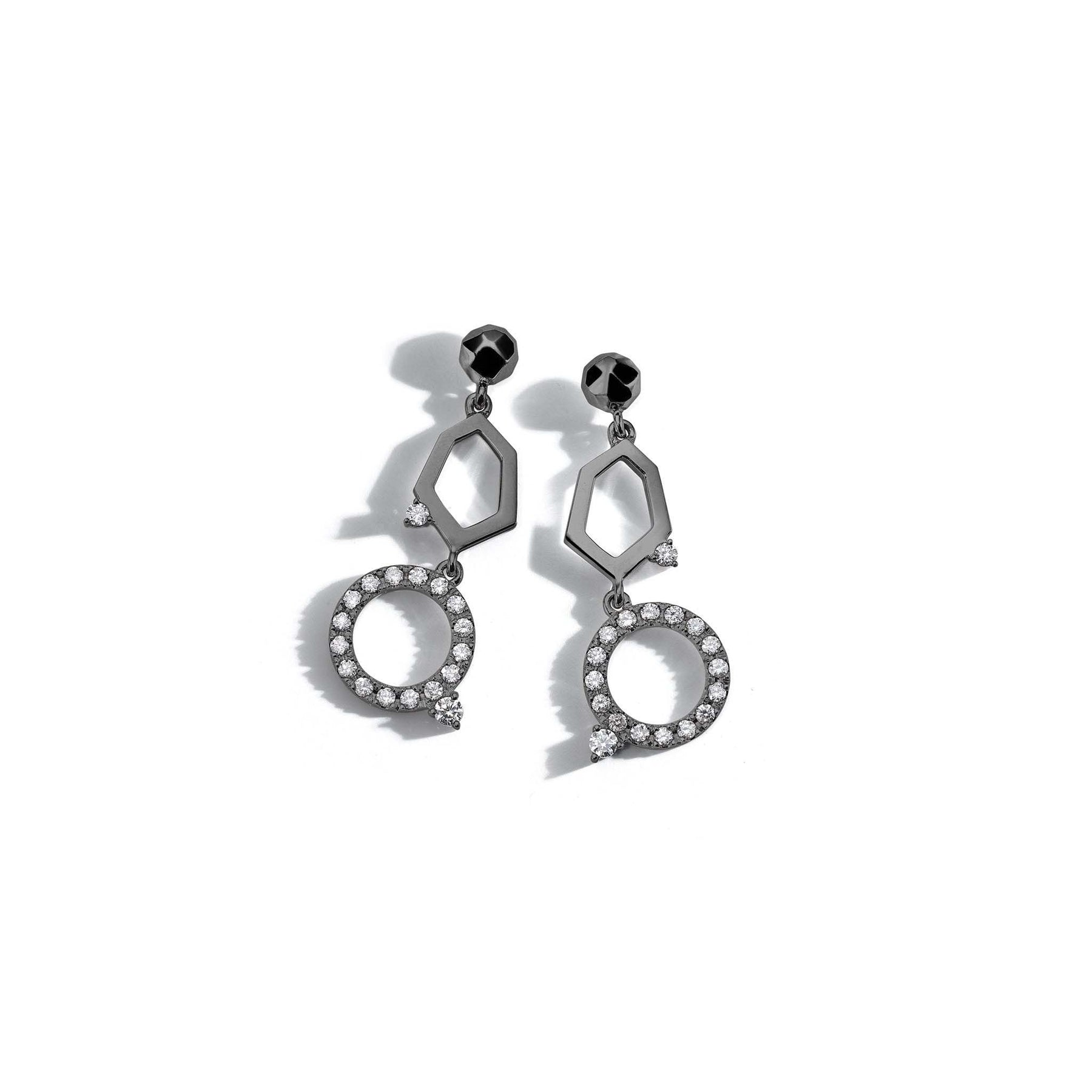 MIMI-SO-Jackson-2-Drop-Doha-Diamond-Earrings_18k Black Gold