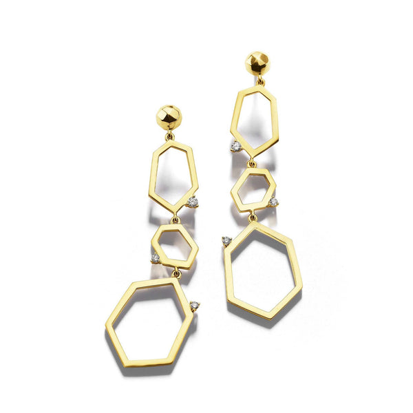 Jackson-3-Drop-Link-Earrings_18k Yellow Gold