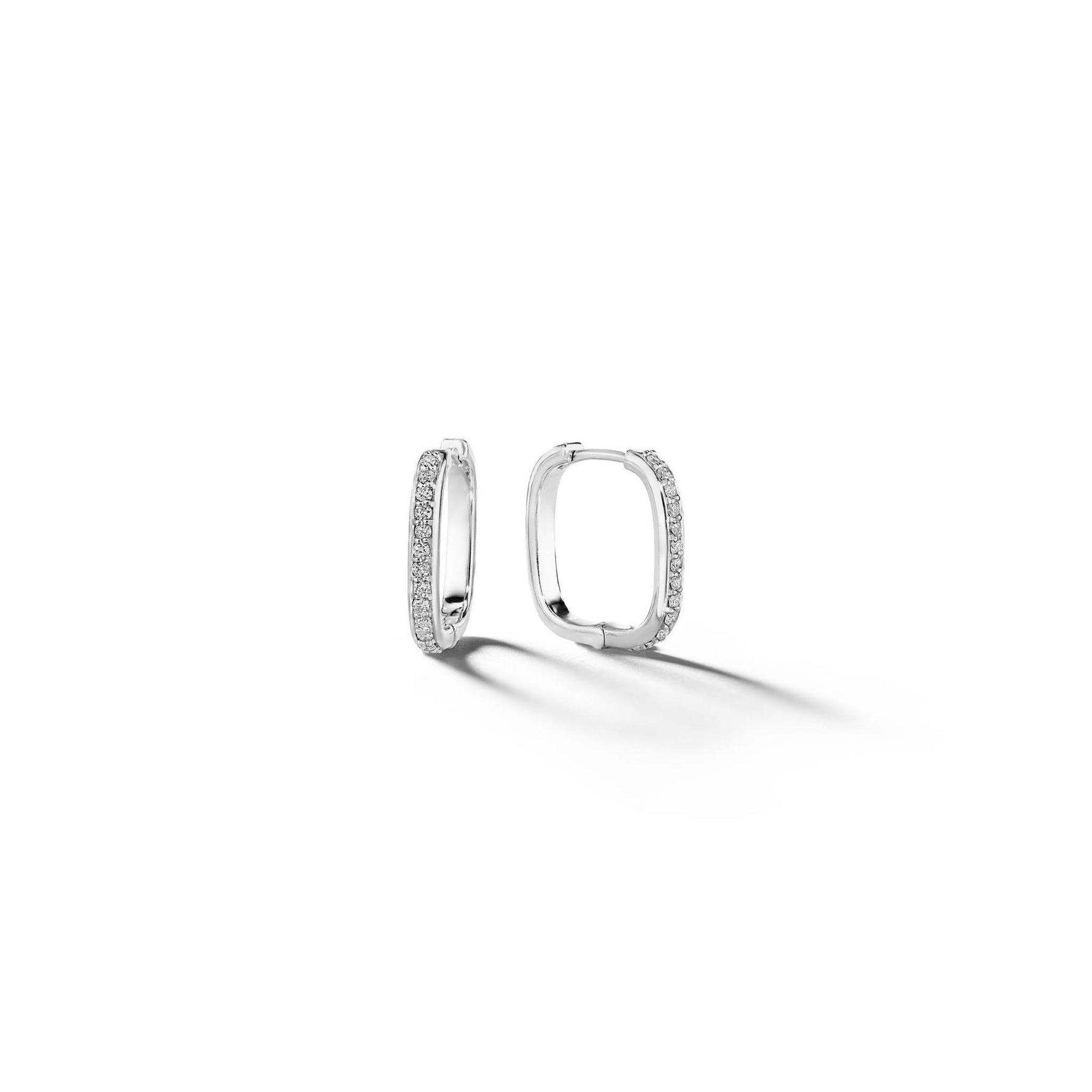 Mimi So Piece Square Hoop Earrings_18k White Gold