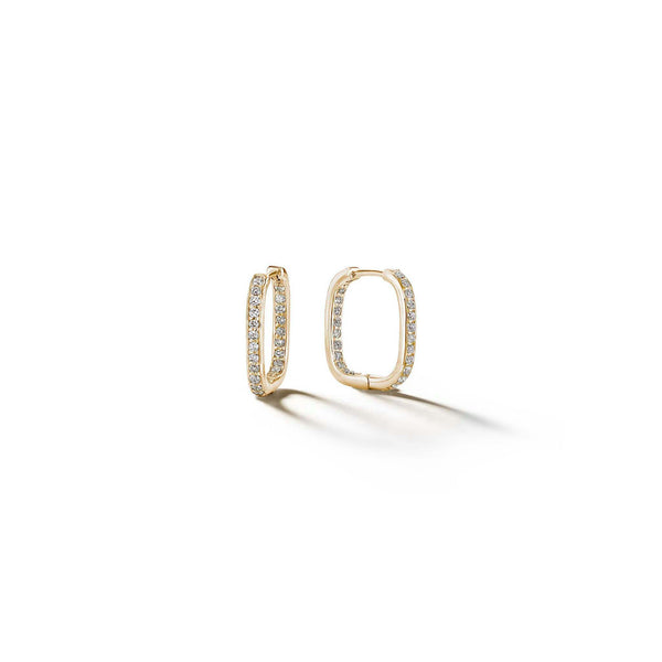 Piece-Square-Diamond-Hoop-Earrings_18k Yellow Gold