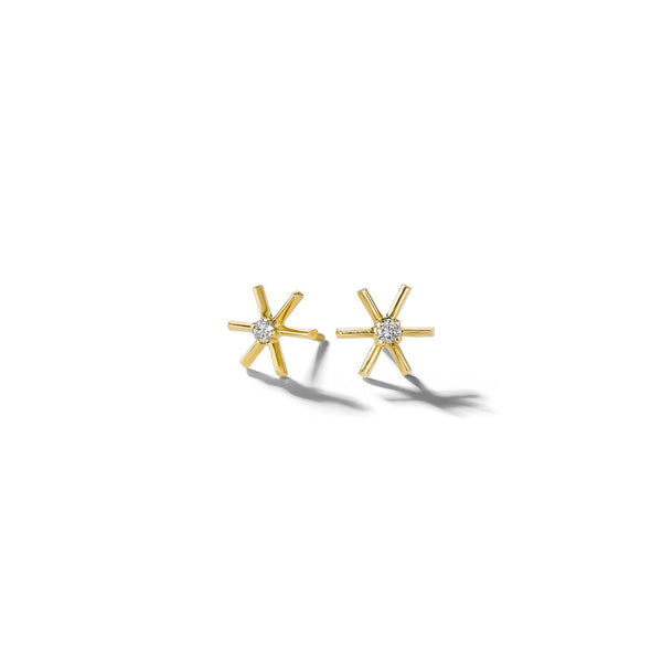 Mimi-So-Piece-Star-Stud-Earrings_18k Yellow Gold