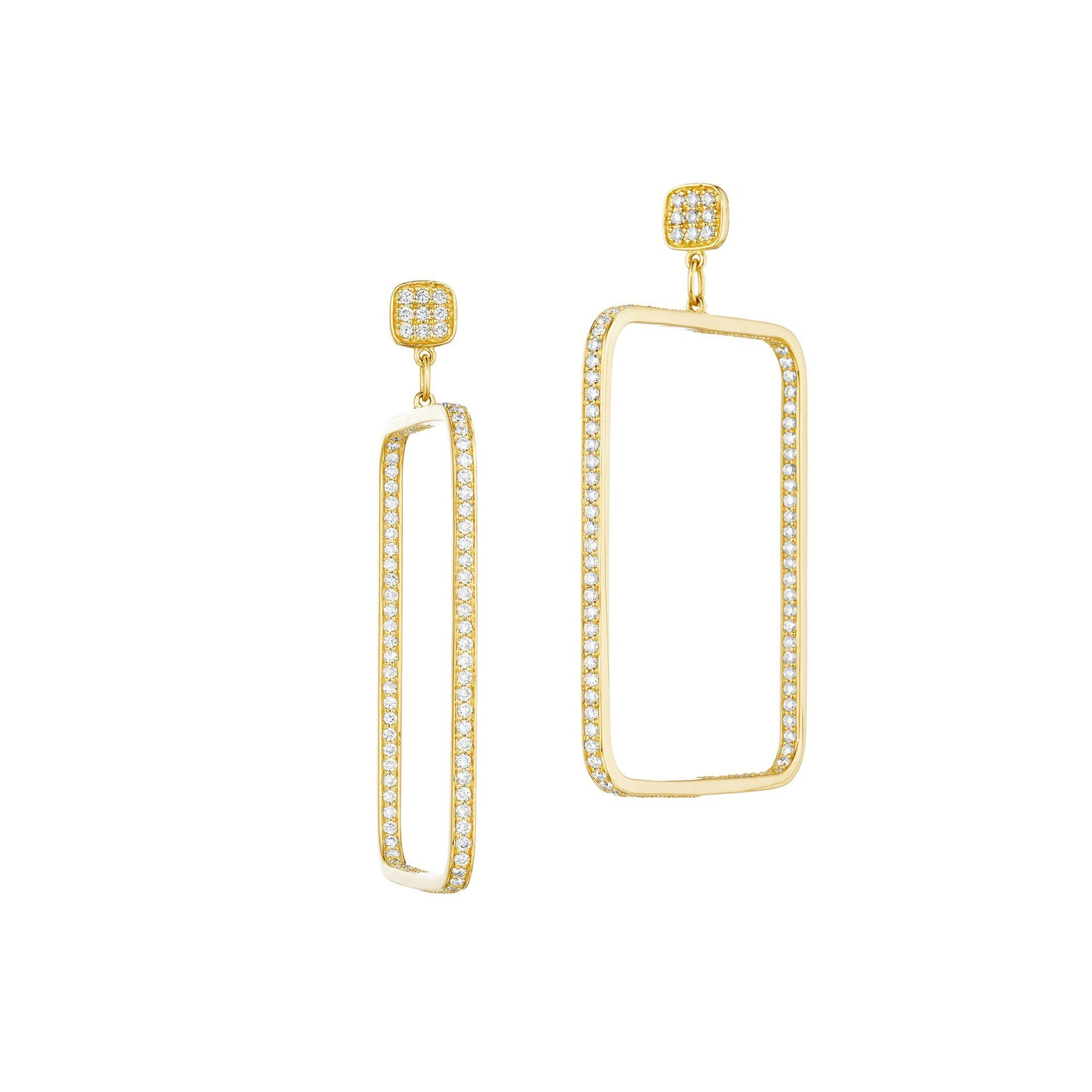 Mimi-So-Square-Diamond-Drop-Earrings_18k Yellow Gold