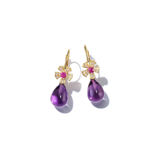 Mimi-So-Wonderland-Orchid-Amethyst-Teardrop-Earrings_18k Yellow Gold