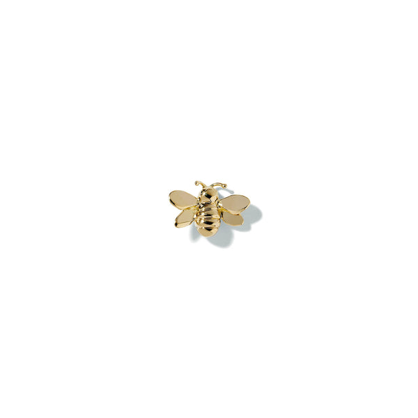 Mimi-So-Wonderland-Bumble-Bee-Single-Stud_18k Yellow Gold