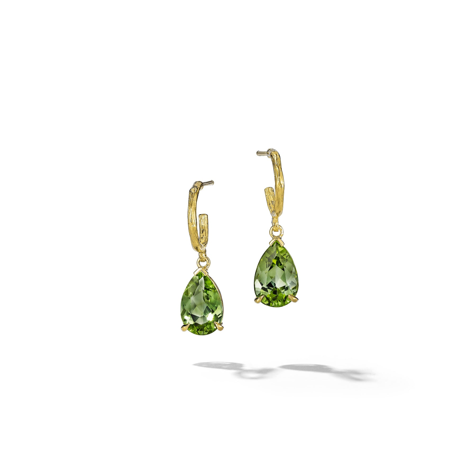 Wonderland-Green-Tourmaline-Earrings_18k Yellow Gold