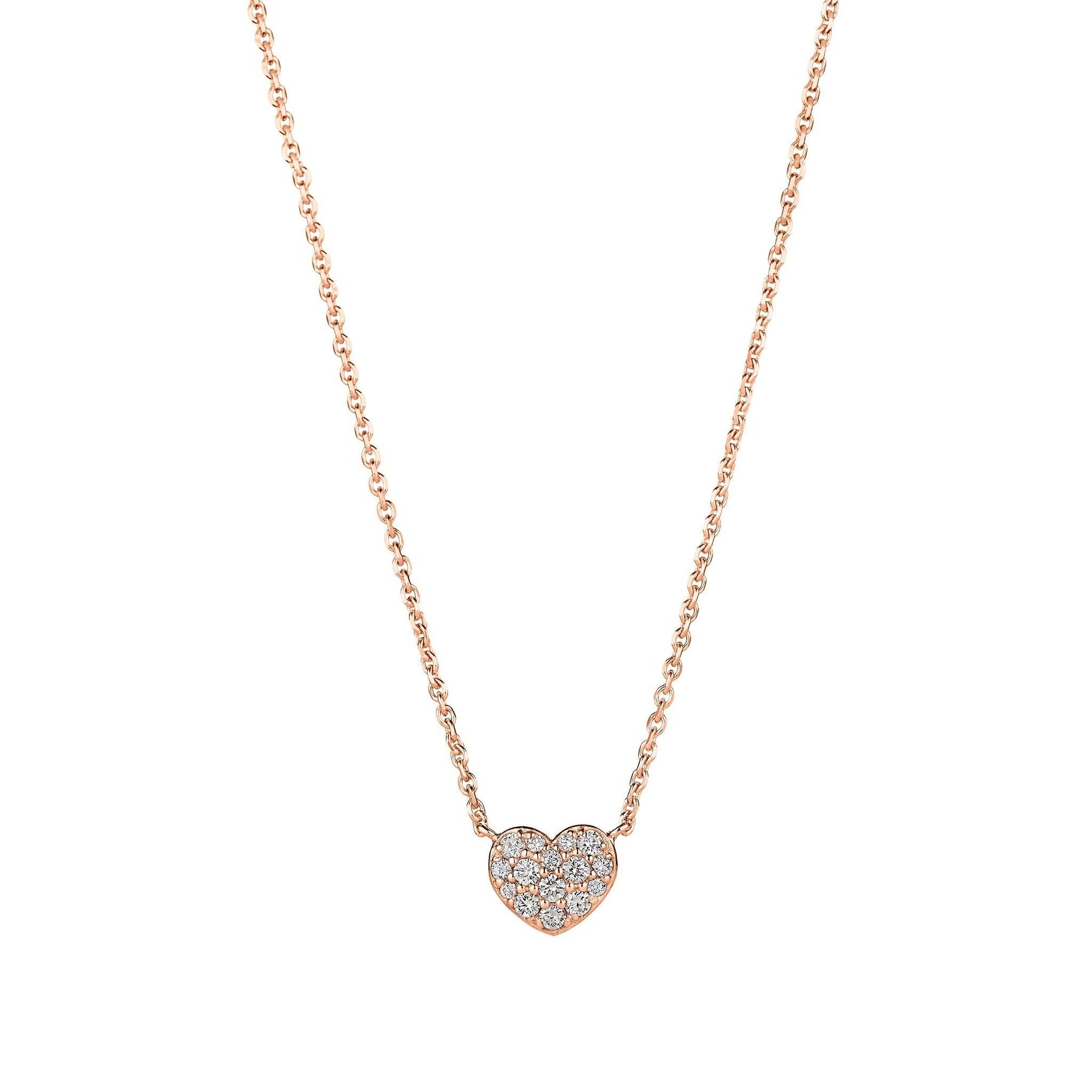 Mimi-So-Diamond-Heart-Necklace_18k Rose Gold
