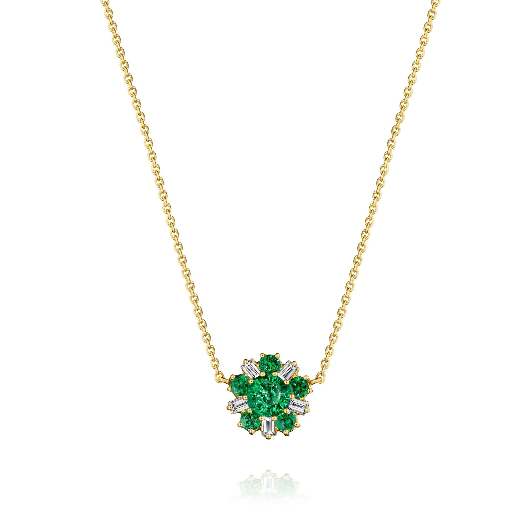 Mimi-So-Wonderland-Ballerina-Necklace-Emerald_18k Yellow Gold