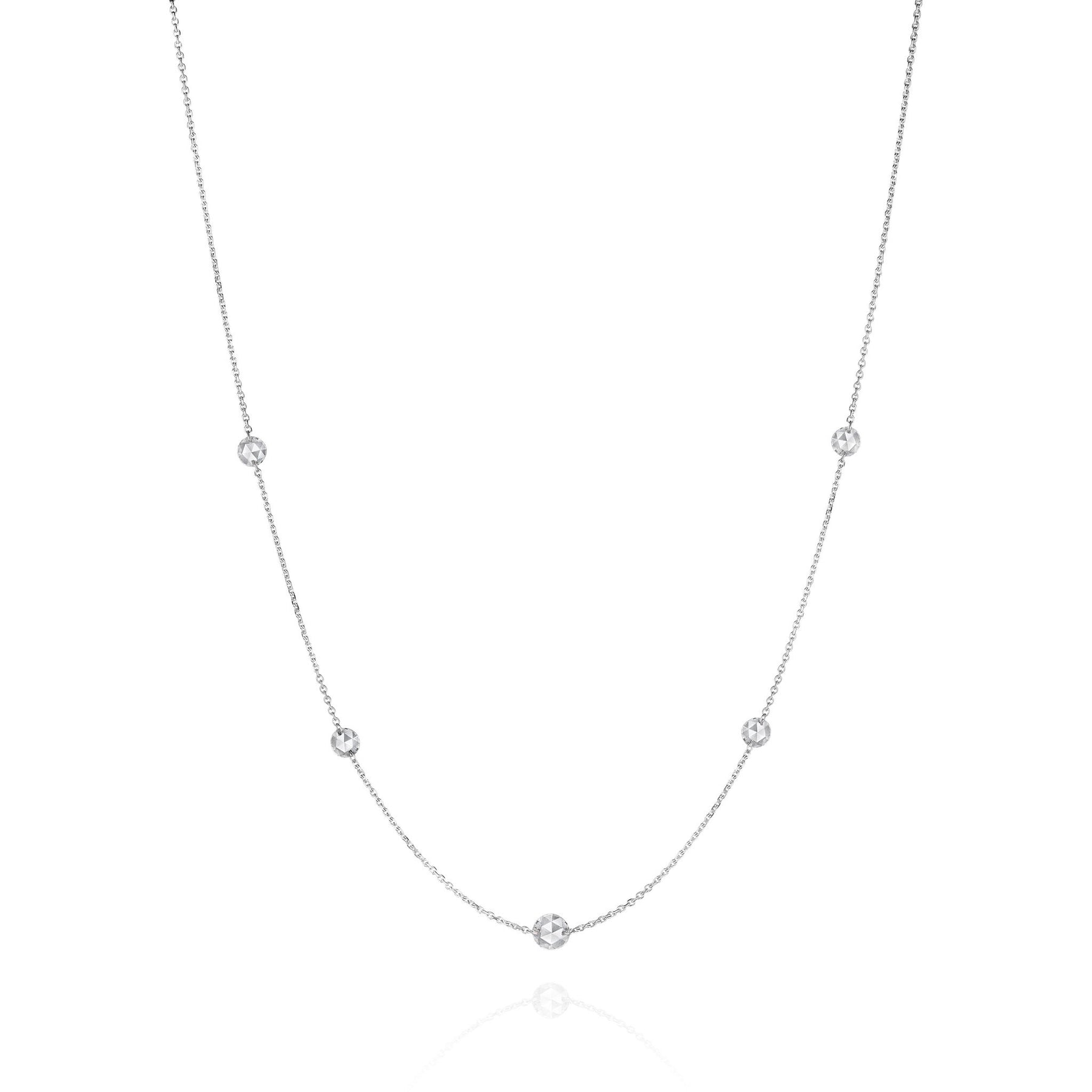Mimi-Rosette-Couture-Rose-Cut-Diamond-Necklace_18k White Gold
