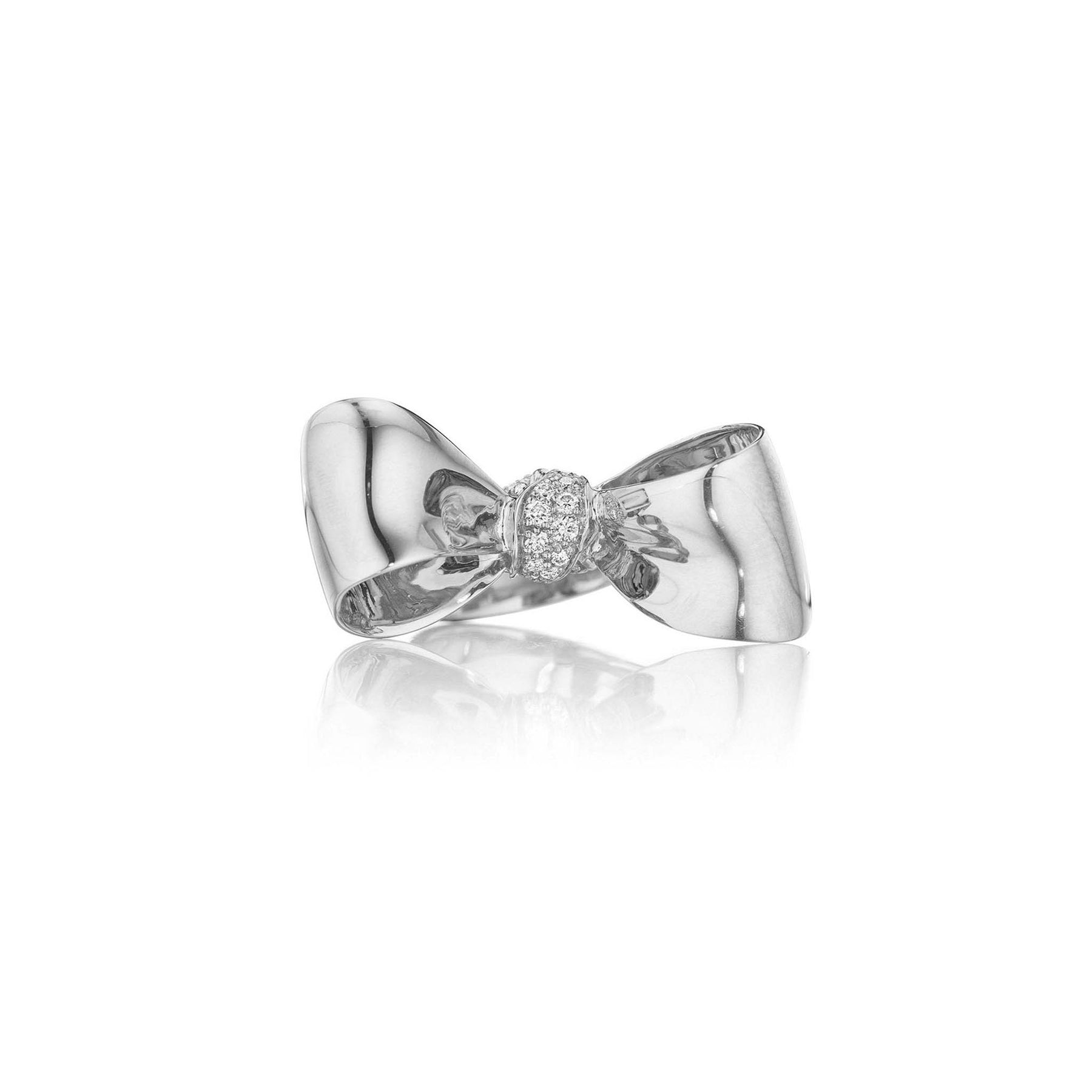 Mimi-So-Bow-Diamond-Knot-Ring-Medium_18k White Gold