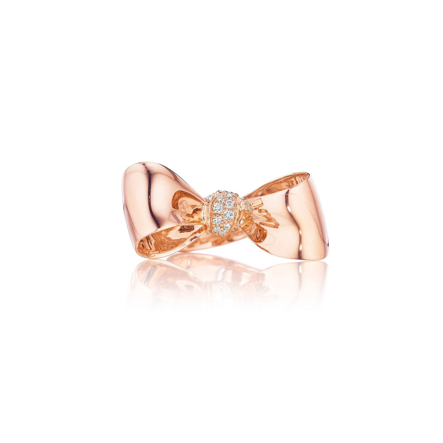 Mimi-So-Bow-Diamond-Knot-Ring-Medium_18k Rose Gold