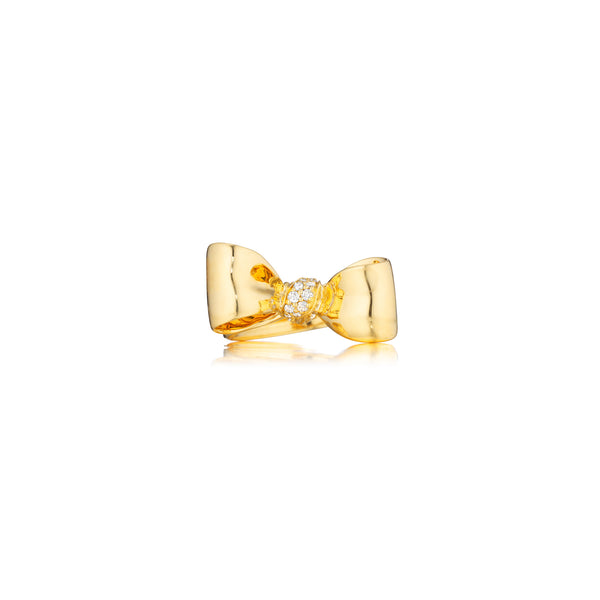 Mimi-So-Bow-Diamond-Knot-Ring_18k Yellow Gold