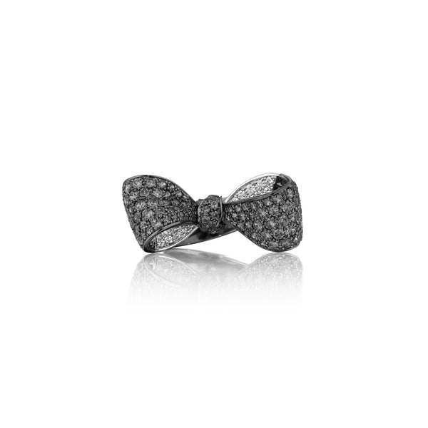 Mimi-So-Bow-Black-White-Diamond-Bow-Ring-Mid_18k White/Black Gold