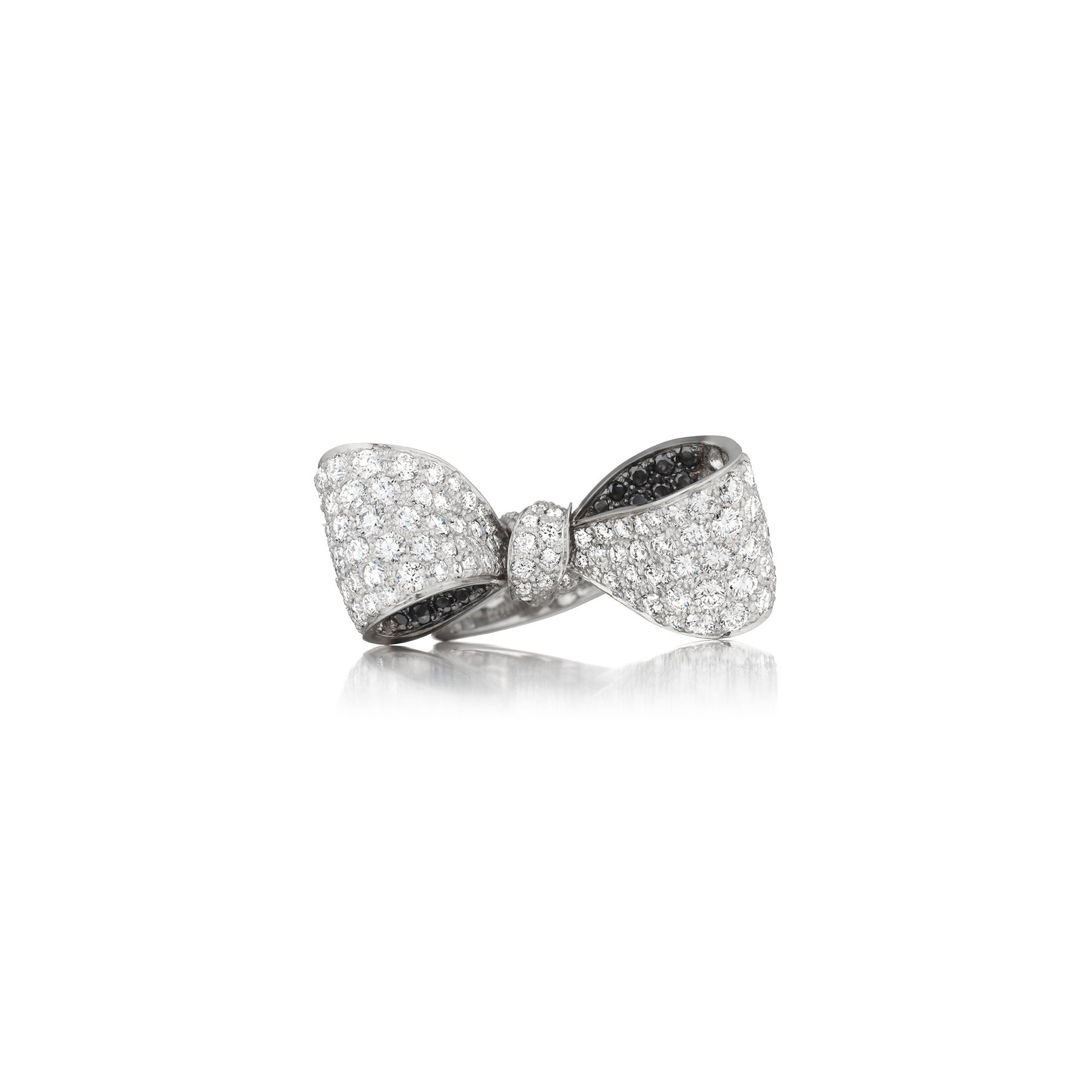 Mimi-So-Black-and-White-Diamond-Bow-Ring_18k White/Black Gold