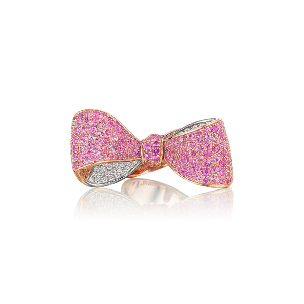 RG0024S-Mimi-So-Bow-Ring-Large-Pink-Sapphire_18k White/Rose Gold