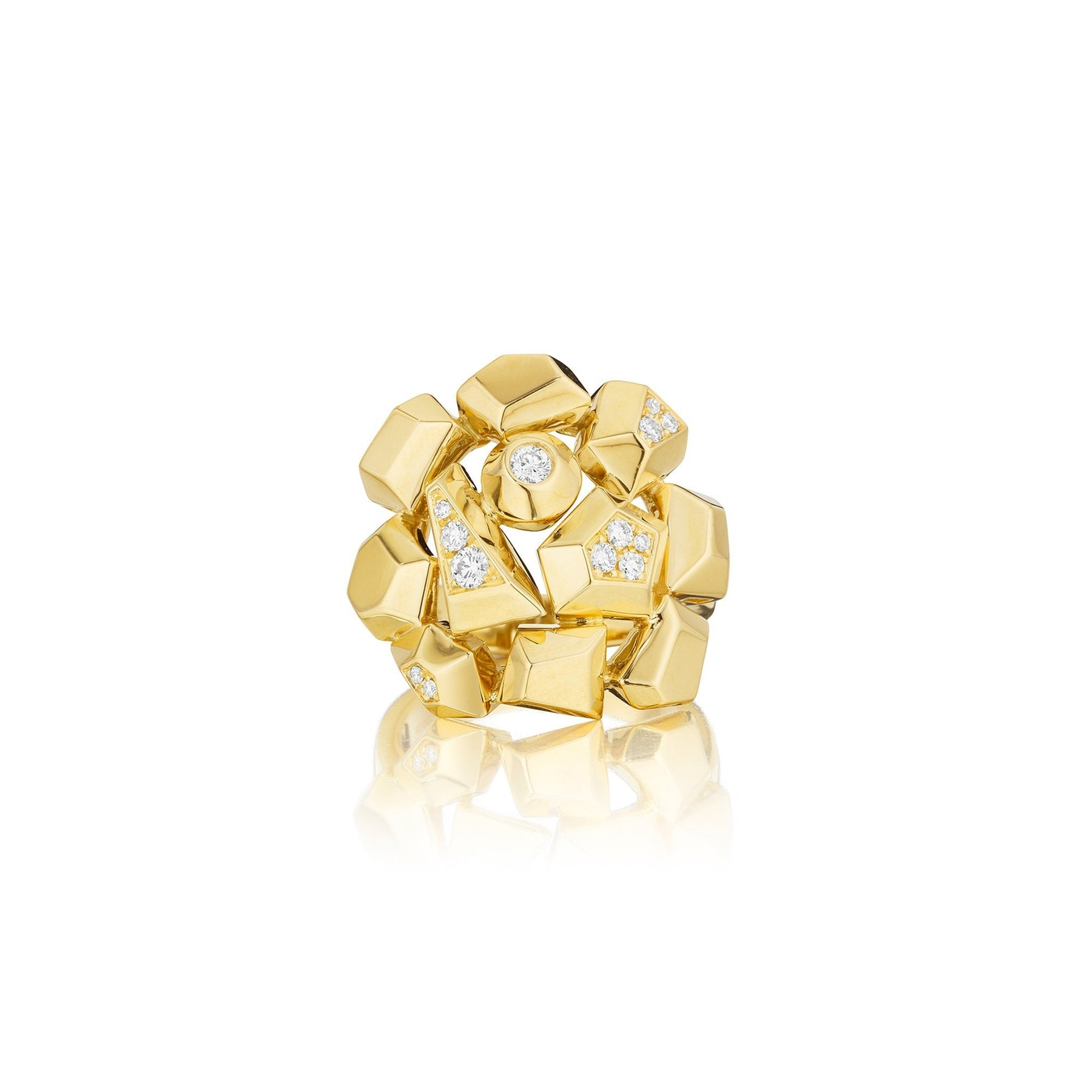 Mimi-So-Jackson-Cluster-Diamond-Ring_18k Yellow Gold