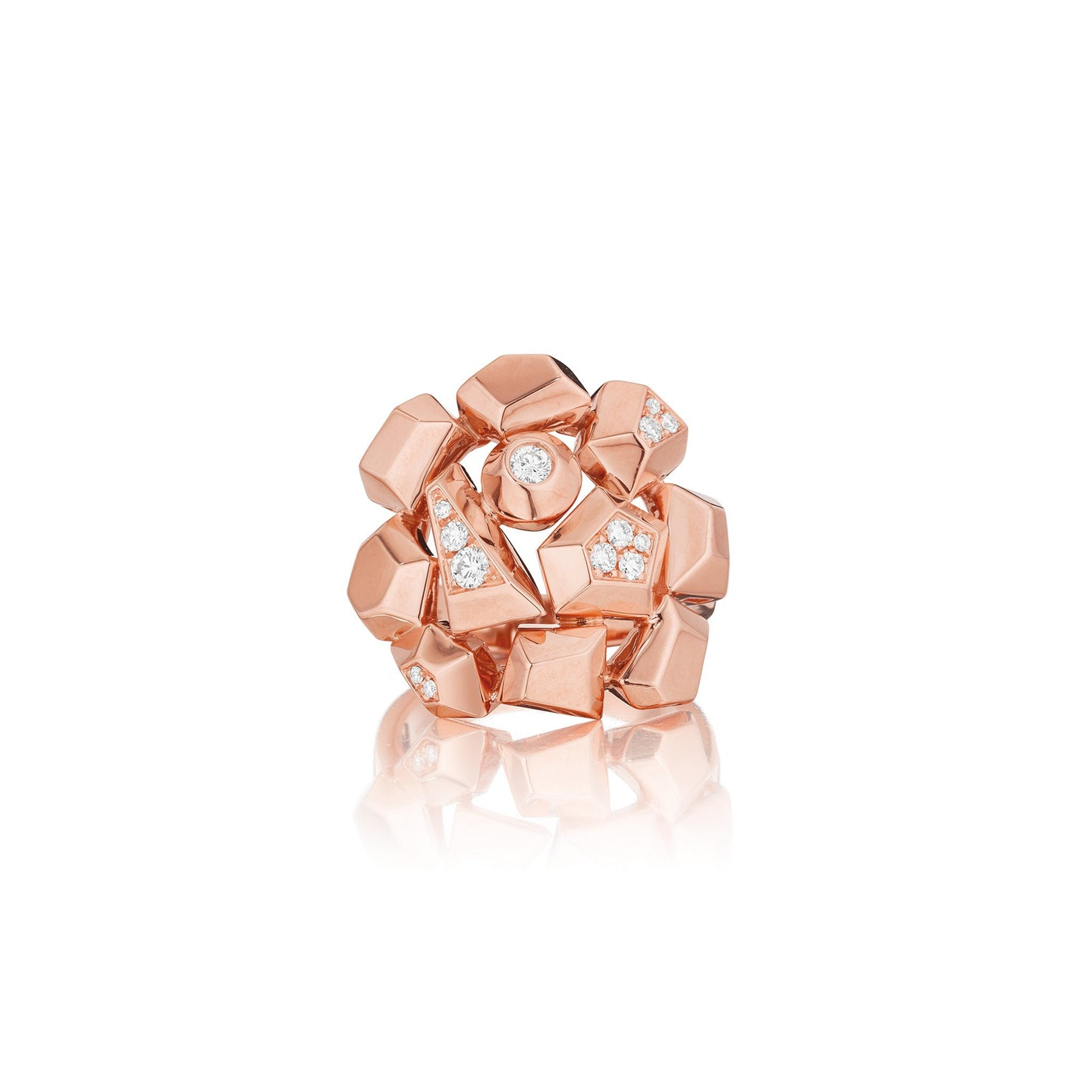 Mimi-So-Jackson-Cluster-Diamond-Ring_18k Rose Gold
