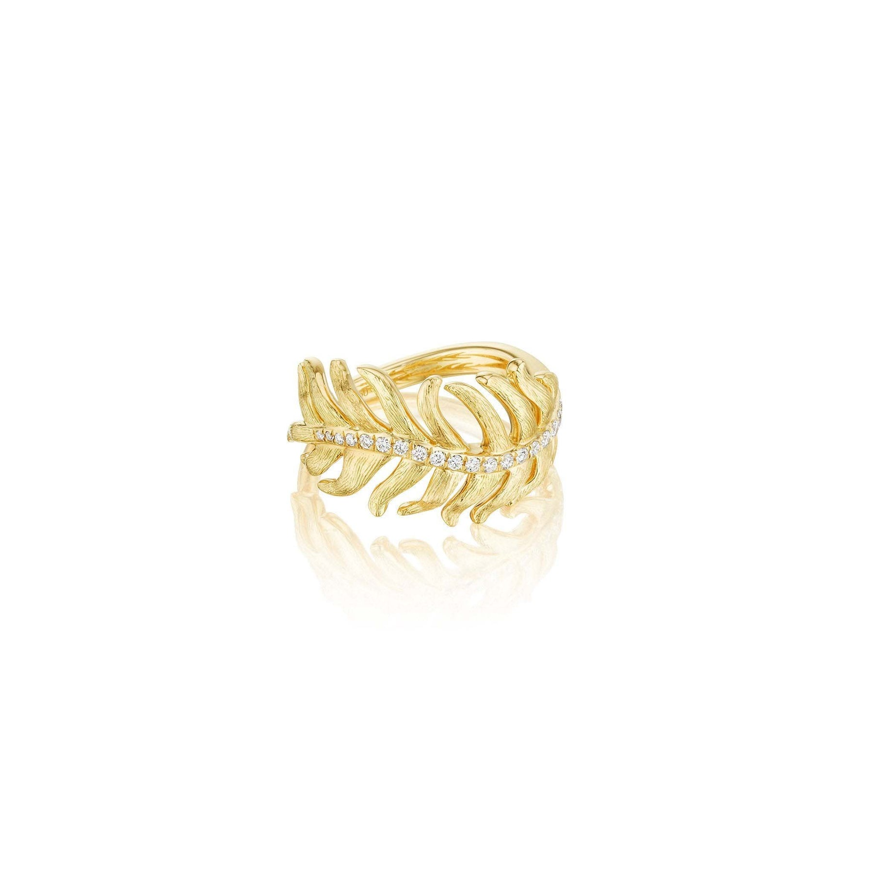 Mimi-So-Phoenix-Feather-Ring-with-Diamonds_18k Yellow Gold