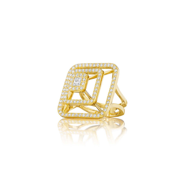 Mimi-So-Piece-Pyramid-Ring-Large_18k Yellow Gold