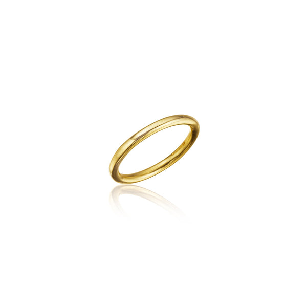 Bond Classic Stackable Band_18k Yellow Gold