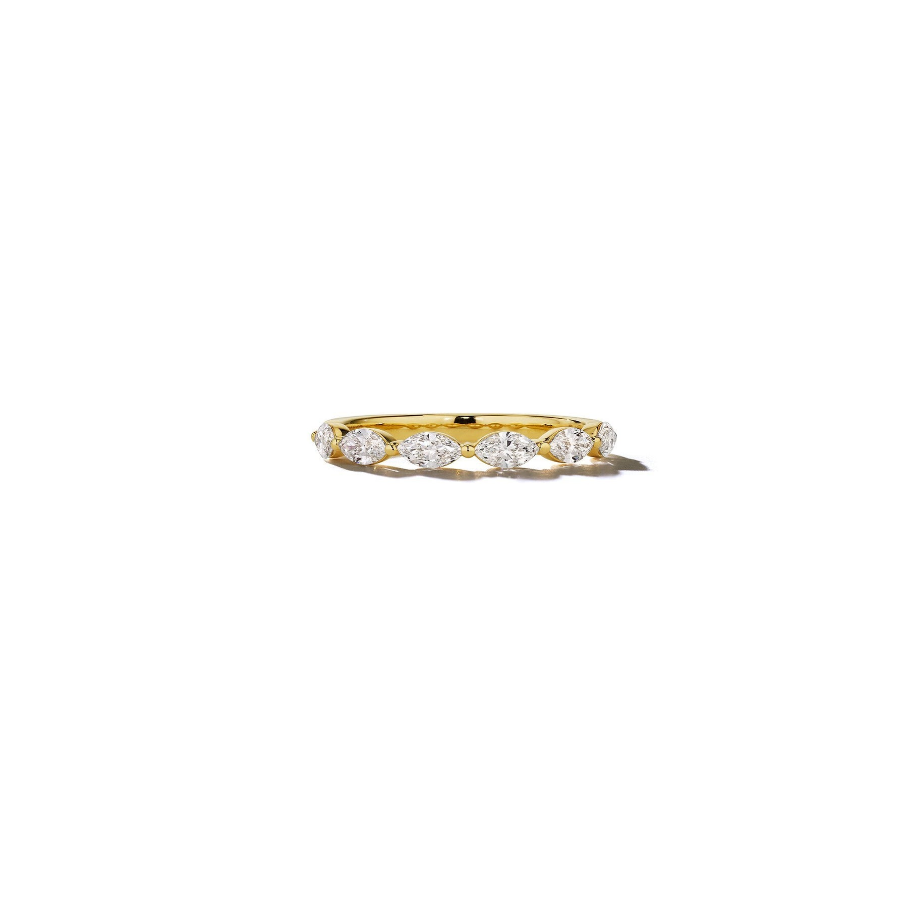 Mimi-So-Bridal-Marquise-Diamond-6-Stone-Ring_18k Yellow Gold