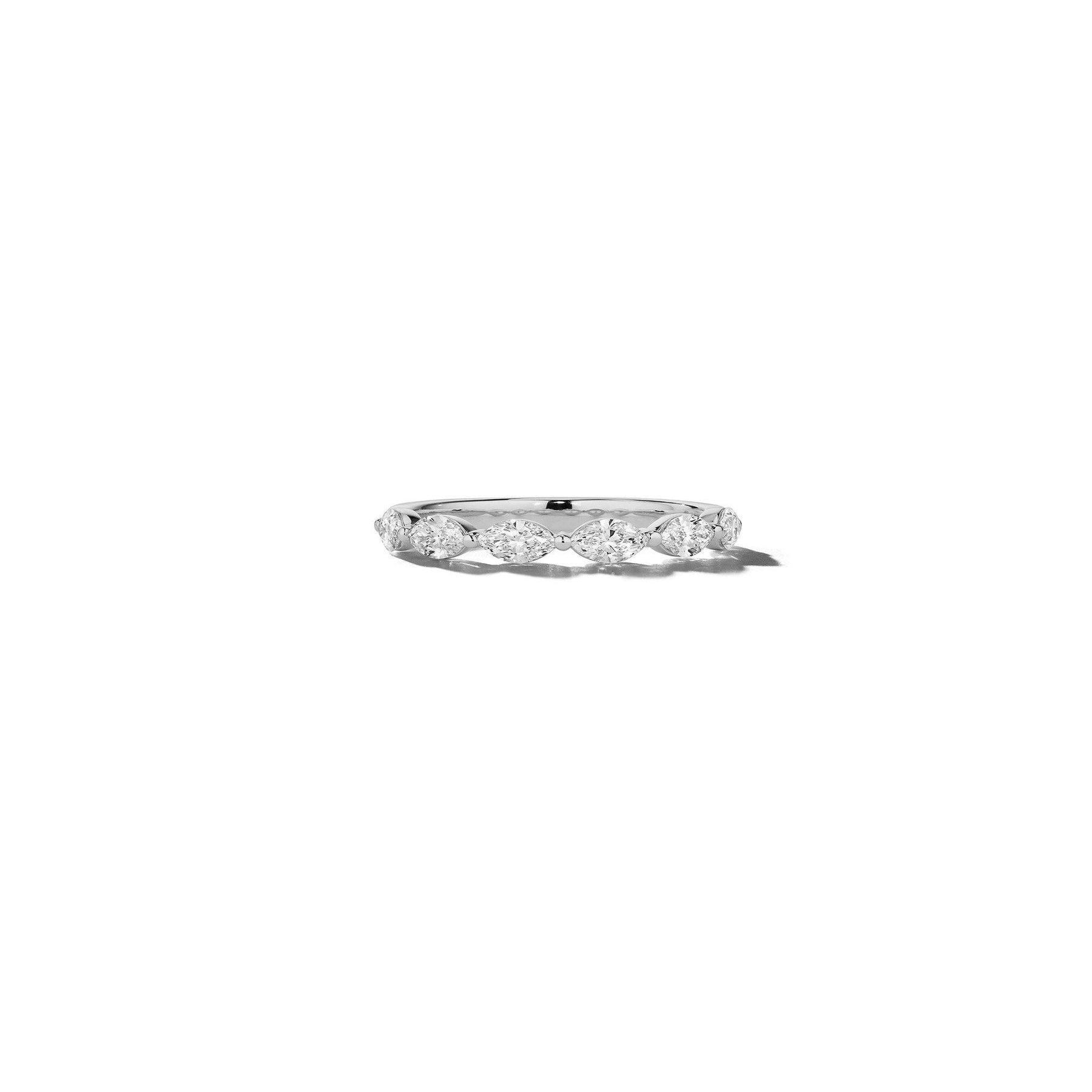 Mimi-So-Marquise-Diamond-6-Stone-Wedding-Band_18k White Gold