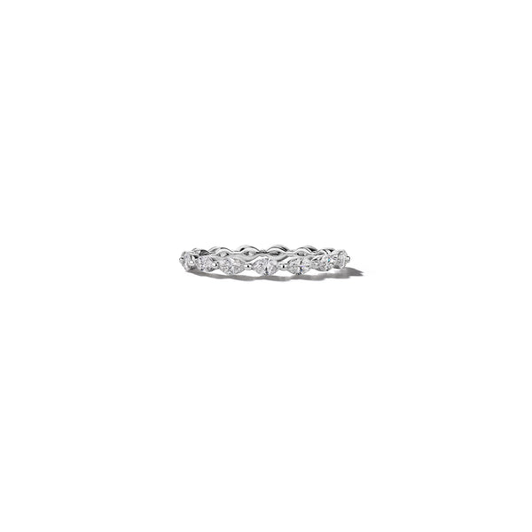 Marquise-Cut-Diamond-Eternity-Ring_18k White Gold