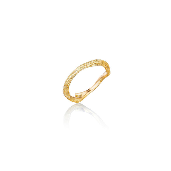 Wonderland-Stackable-Twig-Ring_18k Yellow Gold