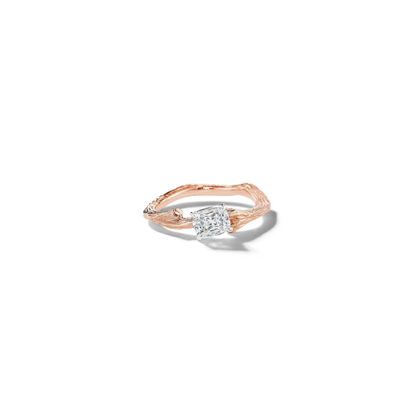 Mimi-So-Wonderland-Twig-Oval-cut-Diamond-Ring_18k White/Rose Gold