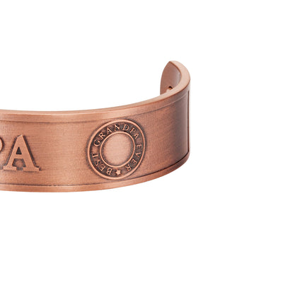 Men's GRANDPA Pure Copper Bangle Bracelet