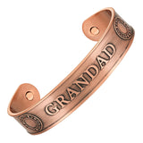 Men's GRANDAD Pure Copper Bangle Bracelet
