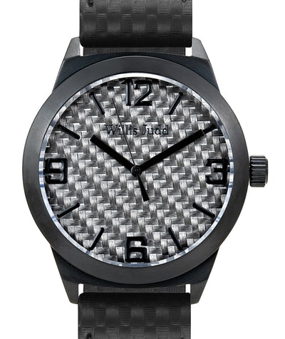 Black PVD with Graphite Carbon fibre