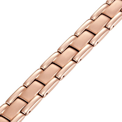 Men's Gold Titanium Magnetic Bracelet