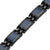 Ladies Blue Honey Comb Titanium Magnetic Bracelet