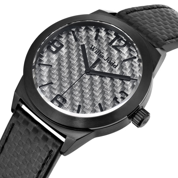 Black PVD with Graphite Carbon Fiber